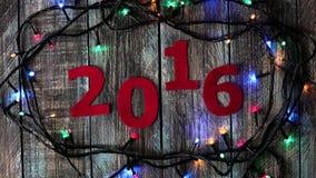 Calendário do ano novo vídeos de arquivo