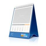 Calendário do Desktop. Vetor. Fotos de Stock