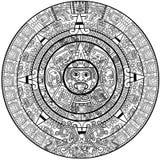 Calendário do Maya Fotografia de Stock Royalty Free