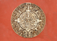 Calendário do Maya Fotos de Stock
