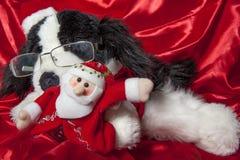Calendário do Natal Fotografia de Stock Royalty Free