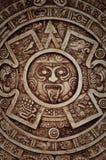 Calendário maia foto de stock