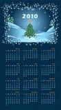 Calendário para 2010 Fotografia de Stock Royalty Free