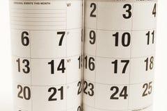 Calendários Imagens de Stock
