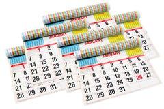 Calendários Foto de Stock