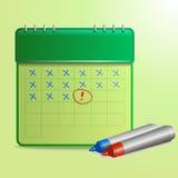 CalendarÂŒ Imágenes de archivo libres de regalías