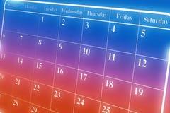 Calendar Stock Photos