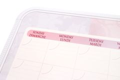Calendar Royalty Free Stock Image