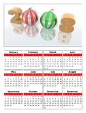 Calendar 2008. A calendar to celebrate the new year 2008 Royalty Free Stock Image