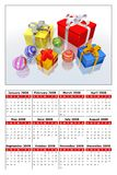 Calendar 2008 Royalty Free Stock Images
