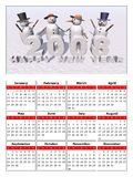 Calendar 2008 Royalty Free Stock Photos