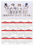 Calendar 2008. A calendar to celebrate the new year 2008 Stock Illustration