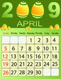 Calendar 2009 Royalty Free Stock Photos