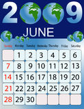 Calendar 2009 Stock Photos