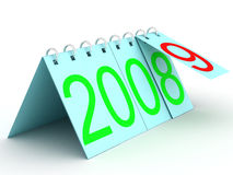 Calendar for 2009. 3D image Stock Photography