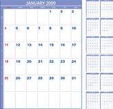 Calendar 2009 Royalty Free Stock Photography