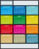 Calendar 2009. Stock Photo