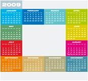 Calendar 2009. Stock Photography