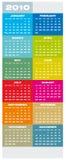 Calendar 2010 Stock Photo