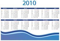 Calendar 2010 Royalty Free Stock Photo