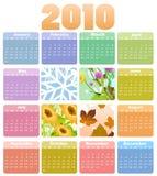 Calendar for 2010 Royalty Free Stock Photos