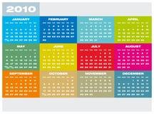 Calendar 2010 Royalty Free Stock Photos