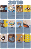Calendar for 2010 Royalty Free Stock Images