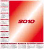 Calendar 2010. Calendar for year 2010, in vector format Vector Illustration
