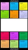 Calendar, 2010 Stock Photo