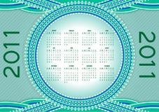 Calendar for 2011 Stock Photography