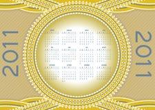 Calendar for 2011 Royalty Free Stock Photos