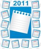 Calendar 2011. Stock Image