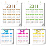 Calendar 2011 Royalty Free Stock Photo