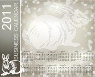 The Calendar 2011. Chinese horoscope Royalty Free Stock Photography