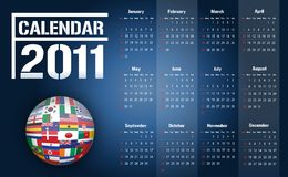 Calendar 2011 / Vector Stock Photos