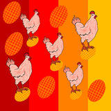 Chicken decor Royalty Free Stock Photography