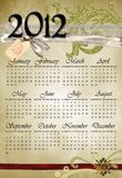 Calendar 2012 No2 Stock Images