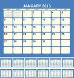 Calendar 2013 Stock Image