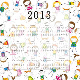 Calendar 2013 Royalty Free Stock Image