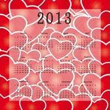 Calendar 2013 Royalty Free Stock Photos