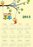 Calendar 2013 Stock Photo
