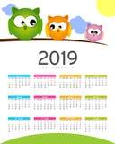 Calendar - 2019 Stock Images