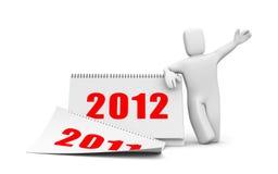 Calendar. Image contain the clipping path Stock Photo