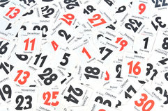 Free Calendar Royalty Free Stock Photography - 22353627