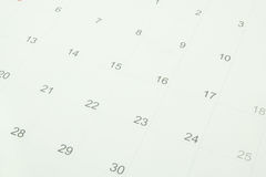 Free Calendar Royalty Free Stock Images - 25408109