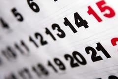 Calendar royalty free illustration