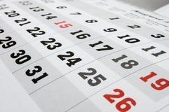 Calendar royalty free stock photography