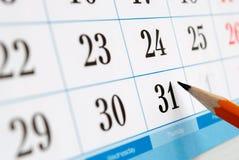 Calendar Stock Photo