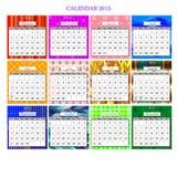 Calendar2015 免版税库存图片