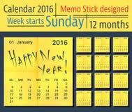Calendar4 Стоковое фото RF